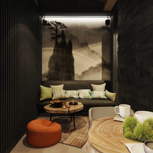 Interiéry - Masážní salón - Mooden design