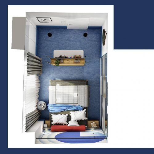 Interiéry - Hotel AVION - Mooden design