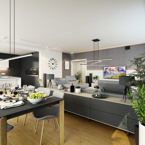Interiéry - Obývací pokoj - Mooden design