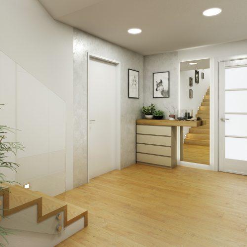 Interiéry - Vstupní zádveří - Mooden design
