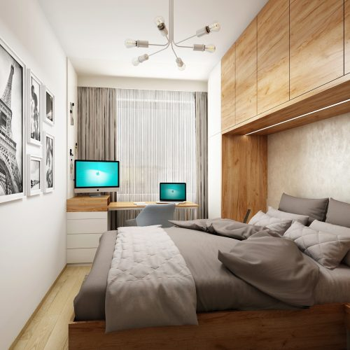 Interiéry - Byt Veleslavín - Mooden design