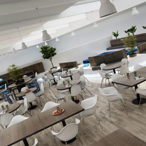 Obchodní centra aobchody - Mooden design