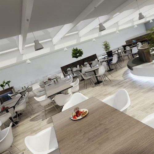 Interiéry - Nákupní centrum BONDY - Mooden design