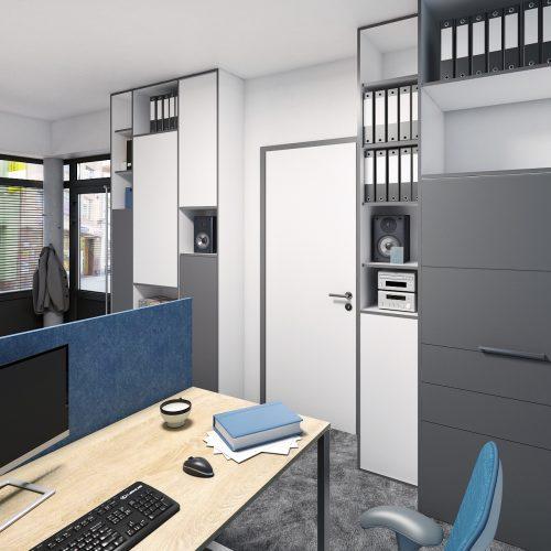 Kanceláře arecepce - Mooden design