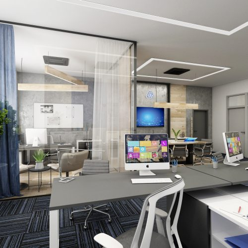 Offices and receptions - Mooden design