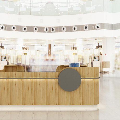 Obchodní centra a obchody - Mooden design