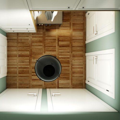 Interiéry - Vizualizace bytu - Mooden design