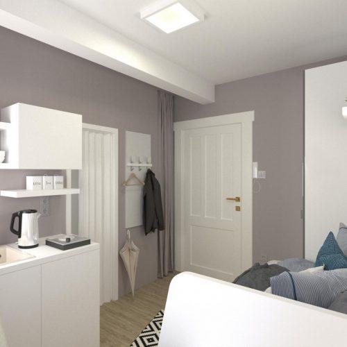 Interiéry - Obývací pokoj s kuchyní na 10 m² - Mooden design