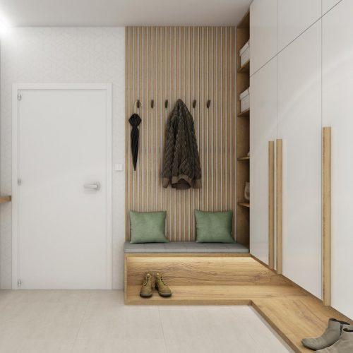 Interiéry - Living room, hall and study room - Mooden design