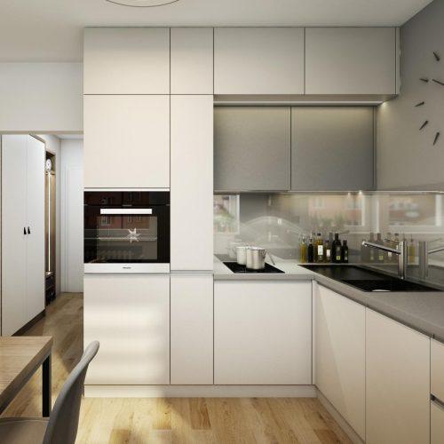 Interiéry - Garsonka na 23m² - Mooden design