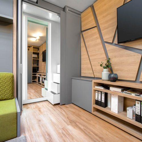 Interiéry -  MOODEN flat – na 27m² se dá žít - Mooden design