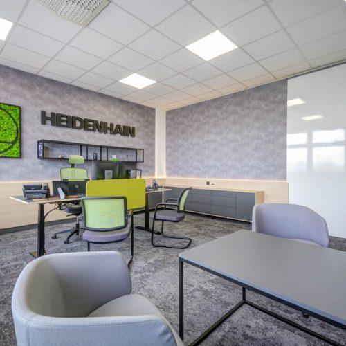 Interiéry -  Kancelář šéfa na 20 m² - Mooden design