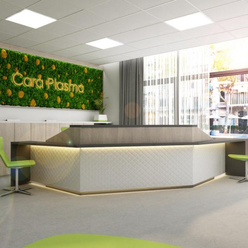Consultation rooms and pharmacies - Mooden design