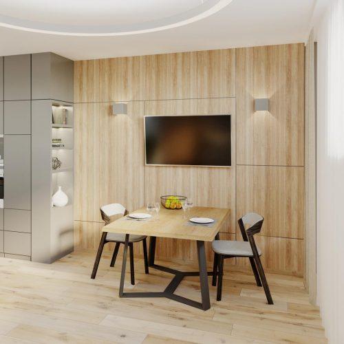 Interiéry - Apartmán vKrkonoších - Mooden design