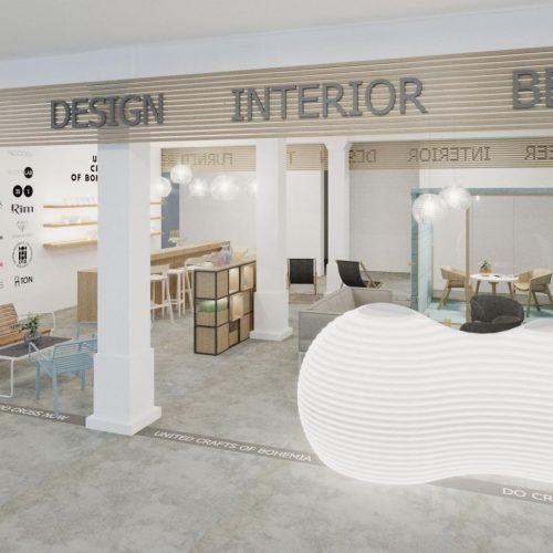Interiéry - Výstavní stánek Londýn - Mooden design