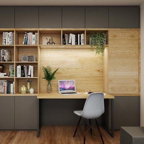 Interiéry - Panelákový byt 3+1 - Mooden design
