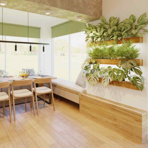 Interiéry - Rekonstrukce apřístavba RD - Mooden design