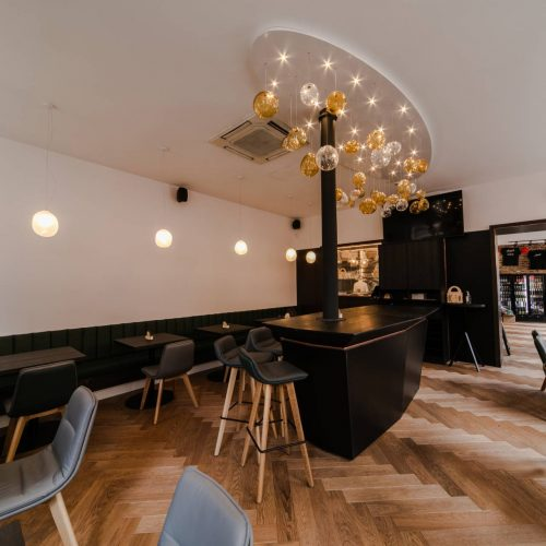 Interiéry -  PIVO hub - Mooden design