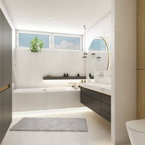 Interiéry - Luxusní koupelna - Mooden design