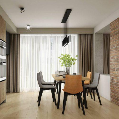 Interiéry - Industriální rodinný dům - Mooden design