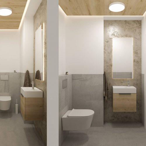 Interiéry - Horský apartmán - Mooden design