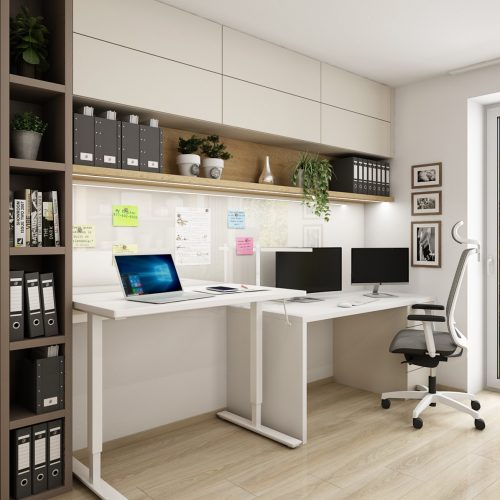 Interiéry - Homeoffice pracovna - Mooden design