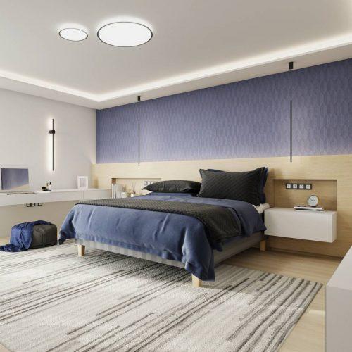 Vizualizace ložnice - Mooden design