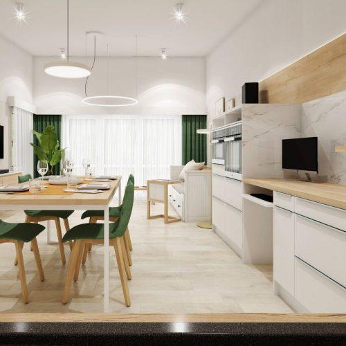 Interiéry - Bezbariérový byt pro vozíčkáře - Mooden design
