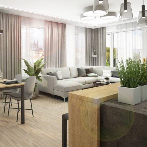 Interiéry - Byt Barrandov - Mooden design