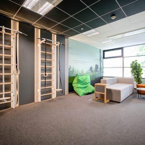 Interiéry -  Kanceláře Flowmon - Mooden design