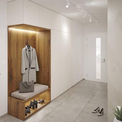 Interiéry - Byt 5kk - Mooden design