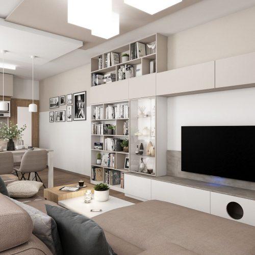 Interiéry - Mini byt - Mooden design
