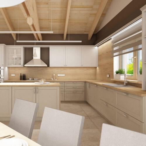 Interiéry - Kuchyň ve stylu Provence - Mooden design