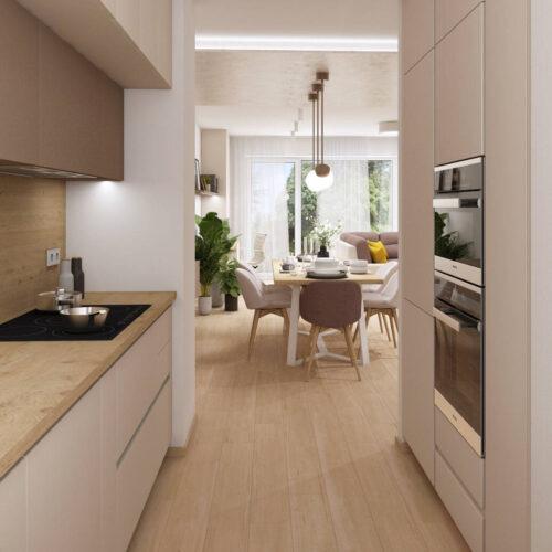 Interiéry - Řadový RD - Mooden design