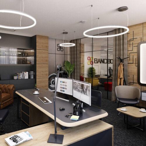 Interiéry - Kanceláře Bancibo - Mooden design